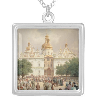 The Great Church Silver Plated Necklace