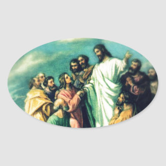 The Great Commission Oval Sticker