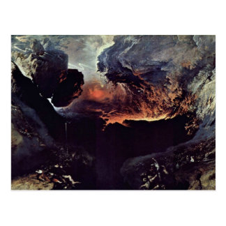 The Great Day Of God S Wrath By John Martin Postcard