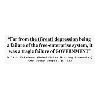 The Great Depression Was A Government Failure Photo Art