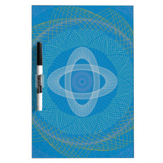 The Great Design blue Dry Erase Board