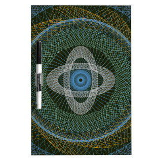 The Great Design Dark Green 2 Dry-Erase Whiteboards