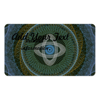 The Great Design Dark Green 2 Pack Of Standard Business Cards