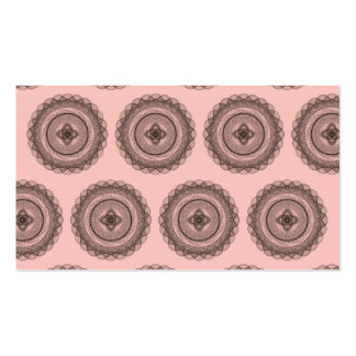 The Great Design Patterns pink brown Pack Of Standard Business Cards