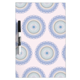 The Great Design pink pattern Dry-Erase Whiteboard