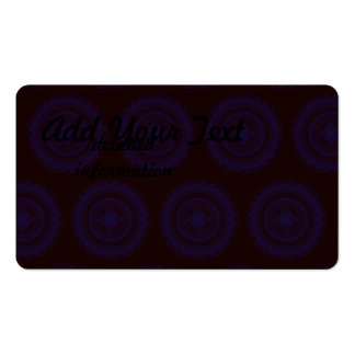 The Great Design Purples Pack Of Standard Business Cards