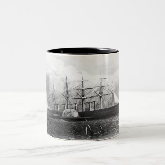 The Great Eastern Two-Tone Coffee Mug