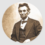 The Great Emancipator - Abe Lincoln (1865) Round Sticker