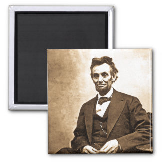 The Great Emancipator - Abe Lincoln (1865) Square Magnet