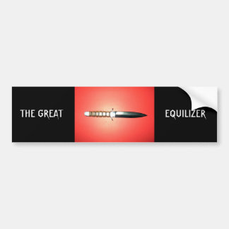 THE GREAT, EQUILIZER BUMPER STICKER