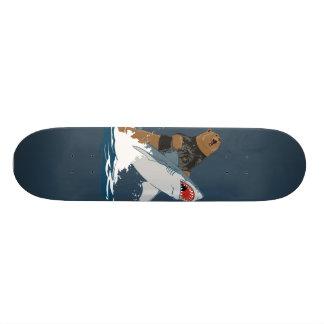 The Great Escape - bear shark cavalry 21.6 Cm Skateboard Deck