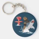 The Great Escape - bear shark cavalry Keychains