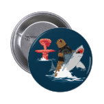 The Great Escape - bear shark cavalry Pin