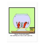 The Great Escape: Goldfish cartoon Postcard