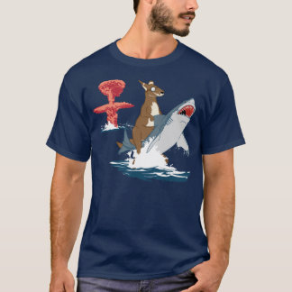 The Great Escape - kangaroo shark cavalry T-Shirt