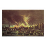 The Great Fire of London, 1666 Poster