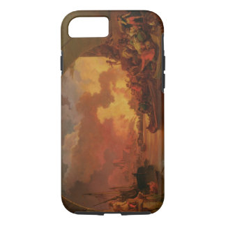 The Great Fire of London, c.1797 (oil on canvas) iPhone 8/7 Case