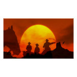 The Great Frontier Western Cowboys Arizona Poster