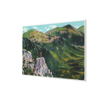 The Great Gulf of the Presidential Range View Canvas Print