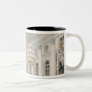 The Great Hall, Winter Palace, St. Petersburg Two-Tone Mug