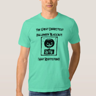 The Great Halloween Blackout Restitution T-Shirt