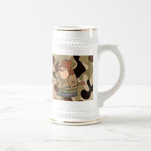 The Great Hunter Camo Stein... Mug
