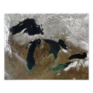 The Great Lakes 3 Photo Print
