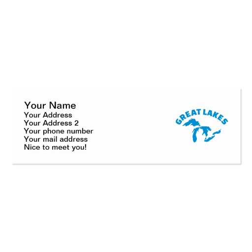 The Great Lakes Business Card