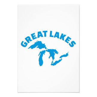 The Great Lakes Custom Invite