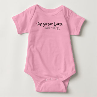 The Great Lakes - shark free Baby Bodysuit