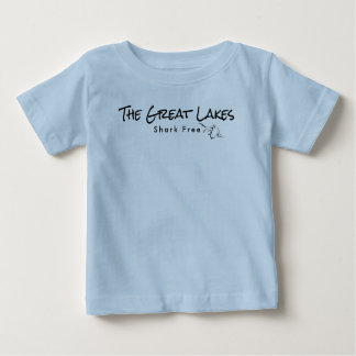 The Great Lakes - shark free Baby T-Shirt