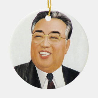 The Great Leader Kim Il Sung Christmas Ornament