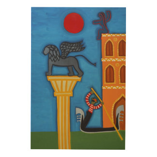 The Great Lion of Venice 2006 Wood Wall Art