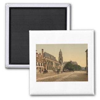 The Great Market, Arnhem, Netherlands Magnet
