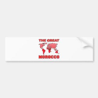The Great MOROCCO. Bumper Sticker