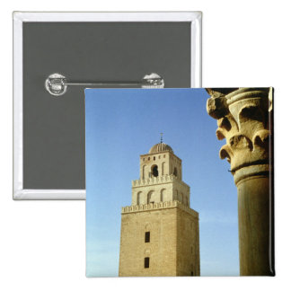 The Great Mosque, Aghlabid, 836-875 AD 15 Cm Square Badge