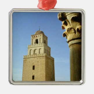 The Great Mosque, Aghlabid, 836-875 AD Christmas Ornament