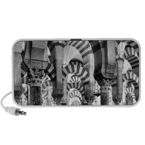 The Great Mosque of Cordoba Notebook Speakers