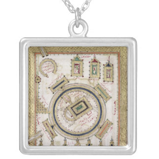 The Great Mosque of Mecca Silver Plated Necklace