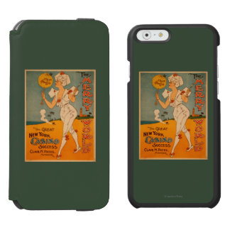 The Great New York Casino Success Theatre Incipio Watson™ iPhone 6 Wallet Case