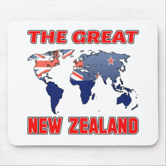 The Great NEW ZEALAND. Mouse Pad