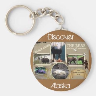 The Great Outdoors in Alaska Key Ring