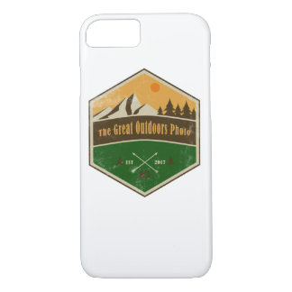 The Great Outdoors Photo Rustic Iphone Case