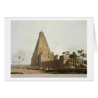 The Great Pagoda, Tanjore, plate XXIV from 'Orient Card
