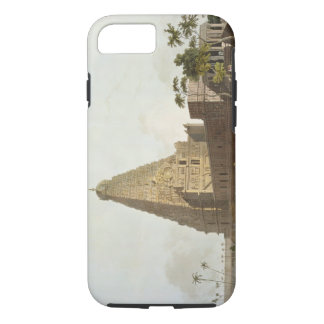 The Great Pagoda, Tanjore, plate XXIV from 'Orient iPhone 8/7 Case