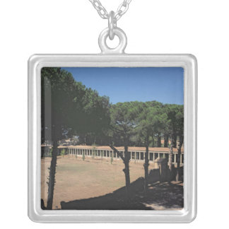 The Great Palaestra Silver Plated Necklace
