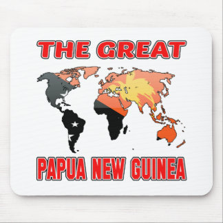 The Great PAPUA NEW GUINEA. Mouse Pad