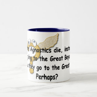 The Great Perhaps Two-Tone Coffee Mug