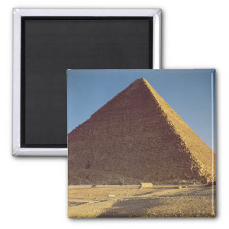 The Great Pyramid of Khufu  Old Kingdom Square Magnet