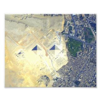 The Great Pyramids at Giza Photo Art